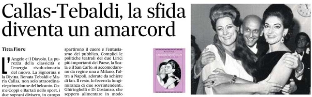 Banner Articolo su Il Mattino per C'eravamo tanto odiate