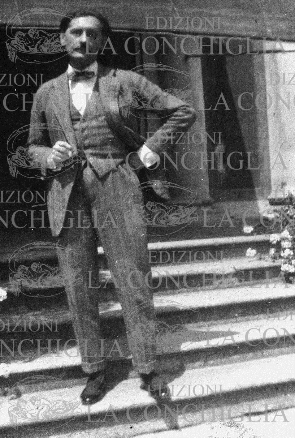 Jacques Fersen poco prima della morte (1923)