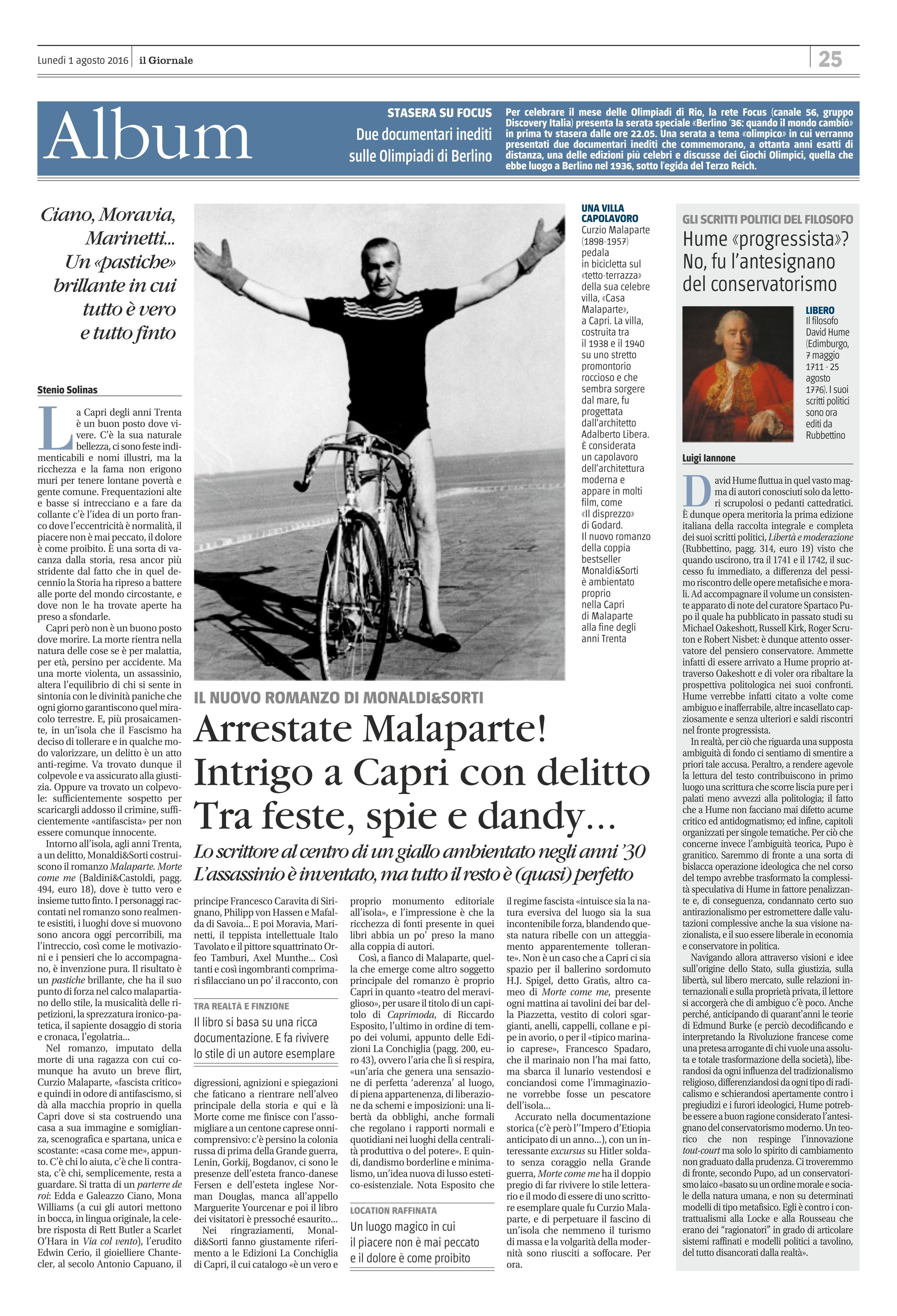 Stenio Solinas - Il Giornale