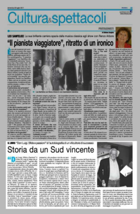 articolo IlRoma 3 presentazione Di Majo