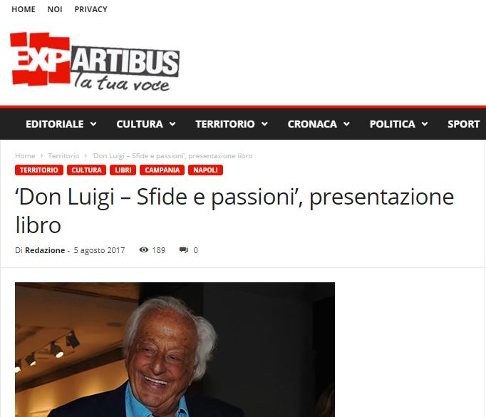 articolo exartibus.com presentazione Di Majo