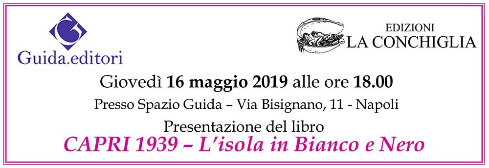 Banner presentazione Capri 1939 da Guida a Napoli
